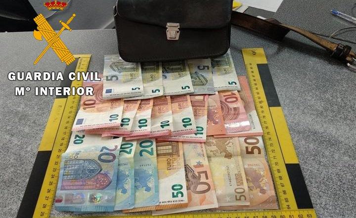 El dinero robado
