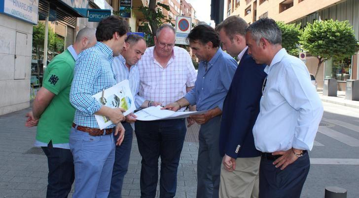 El Ayuntamiento de Albacete atrasa unos días las obras de la calle de la Caba para no perjudicar a los comercios en el inicio de las rebajas