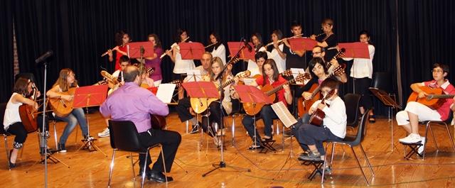 La Escuela Municipal de Música de La Roda, para todas las edades y gustos