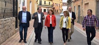 La consejera de Bienestar califica los servicios sociales de Hoya Gonzalo como 'referente' Albacete