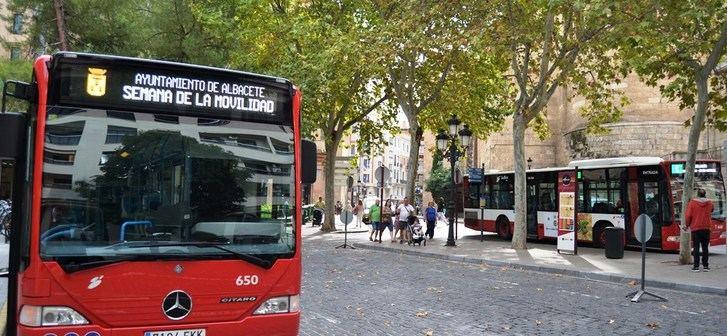 Más de 518.000 pasajeros tuvieron los autobuses urbanos de Albacete el mes pasado