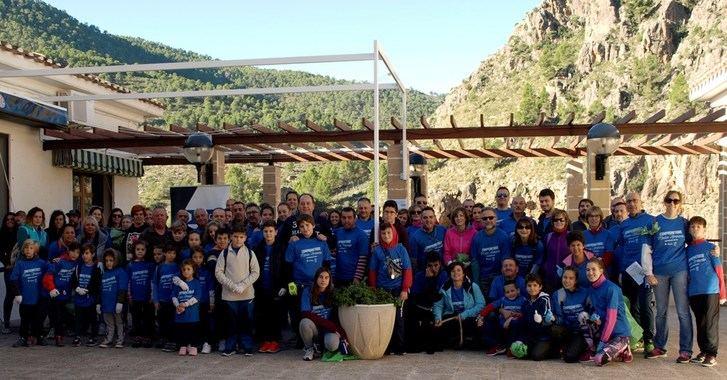 Jornada de limpieza y sensibilización medioambiental del Ayuntamiento de Ayna y Aquona