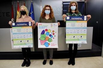 El Ayuntamiento de Albacete se tiñe hoy de azul para hacer visible la realidad del Daño Cerebral Sobrevenido