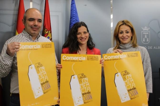 Comercia, la Feria del stock de Albacete, llega a su XII edición los días 3, 4 y 5 de marzo