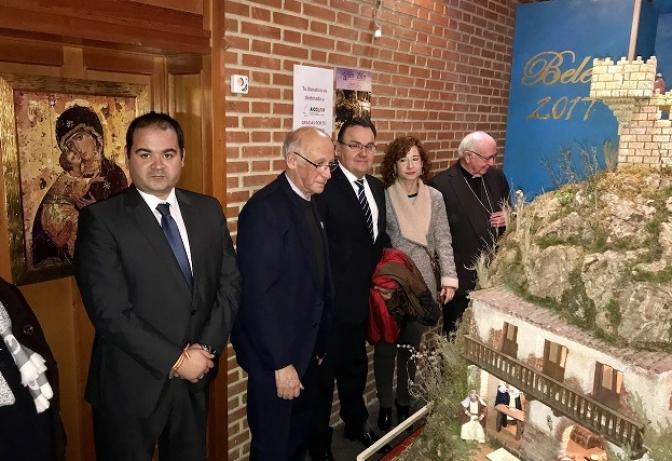 Los albaceteños ya pueden visitar el belén de la parroquia de El Buen Pastor