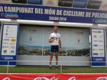 José Antonio Sarria se proclamó en Salou (Tarragona) campeón del mundo de BTT