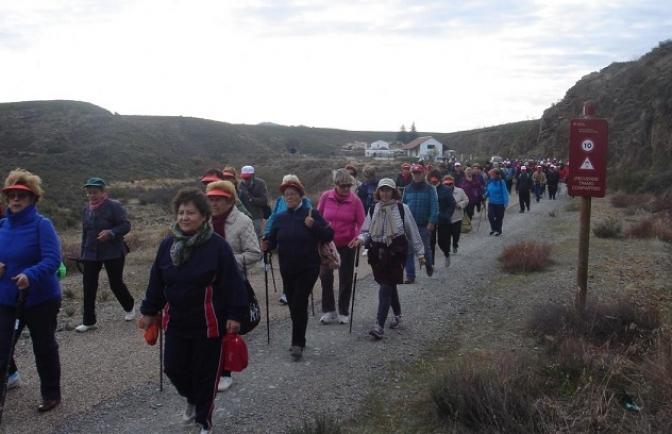 Más de 2.500 personas participaron en las rutas senderistas del programa 'Mayores en Forma' de Castilla-La Mancha