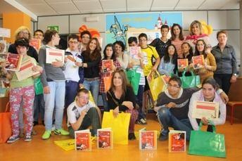 'Cuento contigo' premia a los lectores del C.E.E. de Asprona de La Roda