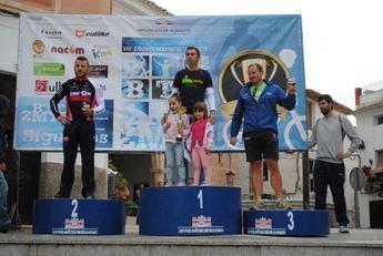 Ana López e Iván Martínez lograron la victoria en la carrera de Letur del Circuito Provincial de BTT