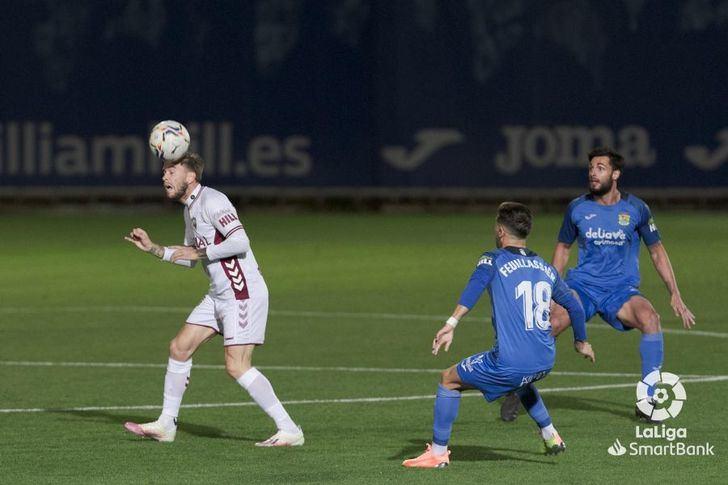 Fuenlabrada-Albacete: Suma y sigue del Alba, una derrota más (1-0)