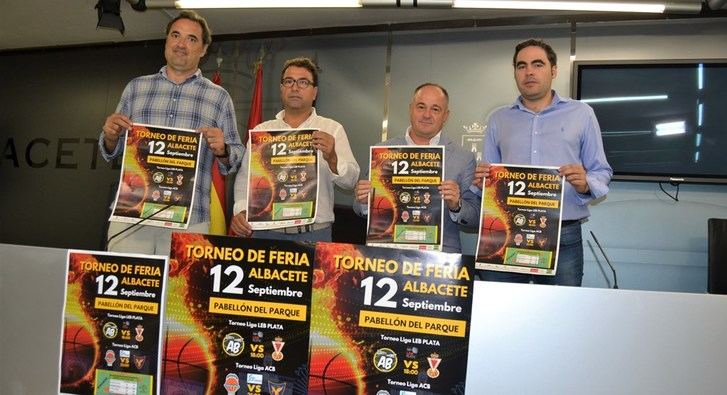 El baloncesto recupera su lugar en la Feria de Albacete con el partido Valencia-UCAM Murcia
