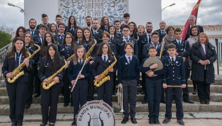 Las academias y bandas de música de la provincia de Albacete salen a la calle con motivo del Día de la Música
