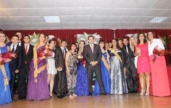 El presidente de la Diputación, Francisco Núñez, pregonó las fiestas patronales de La Recueja