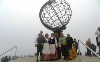 Seis albaceteños celebran sus bodas de plata en Cabo Norte