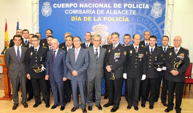 Diversos actos conmemoran en Albacete el Día de la Policía Nacional