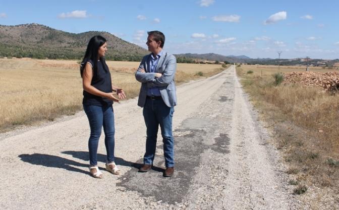 La Diputación de Albacete mejorará el firme de la carretera de Liétor a El Ginete