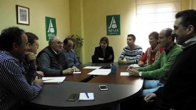 El PSOE de cuenca traslada sus propuestas en agricultura a los asociados de Asaja