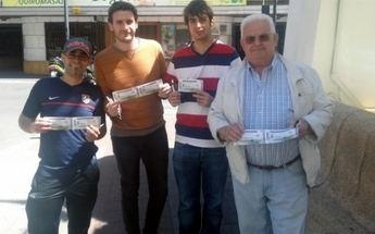 Los premiados de albaceteabierto.es con dos entradas para el partido Alba-Sestao ya tienen sus localidades