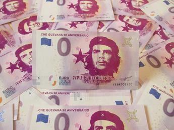 El Ché Guevara ya tiene su billete de 0 euros