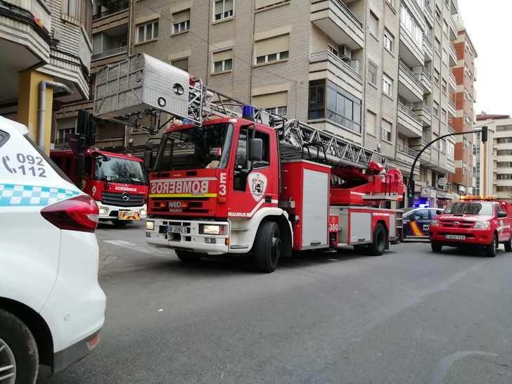 Imagen de archivo de los bomberos de Albacete