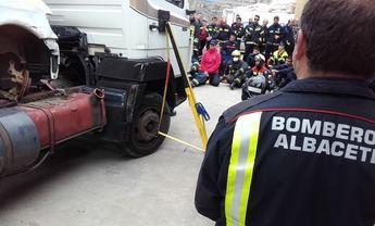 Los bomberos de Albacete crearán un grupo de investigación que ayude a prevenir diferentes situaciones