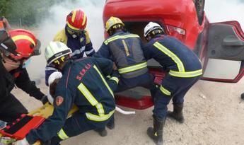 Bomberos de Castilla-La Mancha se forman en la atención sanitaria de emergencia para primeros intervinientes
