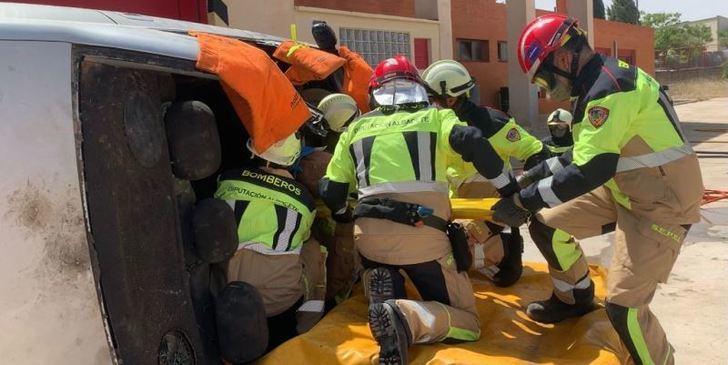 Los bomberos del SEPEI de la Diputación de Albacete renuevan sus recursos materiales