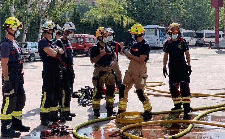 Albacete, sede de unas jornadas de formación conjunta para bomberos de diversas ciudades