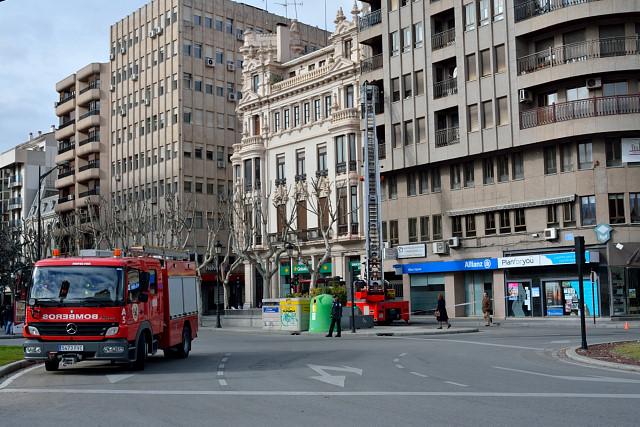 Imagen de archivo de bomberos de Albacete