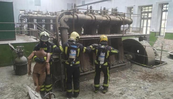 Bomberos de Castilla-La Mancha se forman en orientación y rescate en condiciones de baja visibilidad