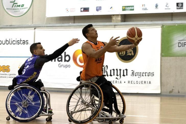 BSR Amiab Albacete y CD Ilunion miden sus fuerzas en el 'clásico' de baloncesto en silla de ruedas