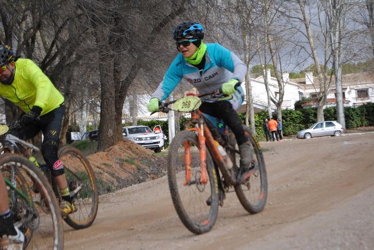 El Circuito de BTT de la Diputación de Albacete llega a los bonitos parajes de Tarazona de la Mancha