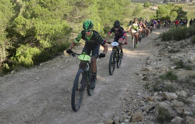 Fuente Álamo acoge a los participantes del Circuito Provincial de BTT de la Diputación de Albacete