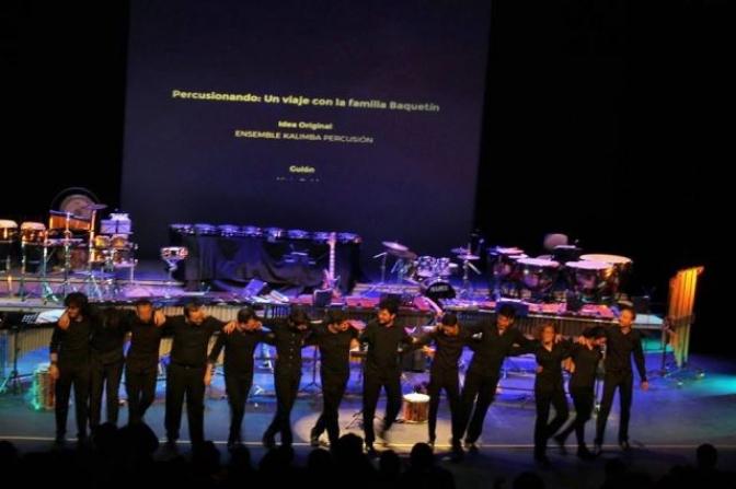 """El espectáculo """"Percusionando"""" vuelve al Teatro de la Paz para escolares de primaria"""