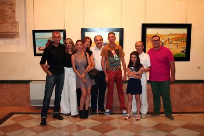 La familia Beneyto expone en el Claustro del Ayuntamiento de Villarrobledo