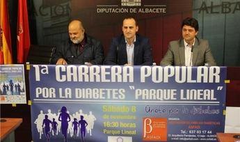 I Carrera Popular del Parque Lineal por la Diabetes, el próximo día 8 de noviembre