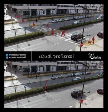 Colectivo967 lanza una campaña para que se instale un paso de cebra en circunvalación, entre las calles Imperial y Yeste