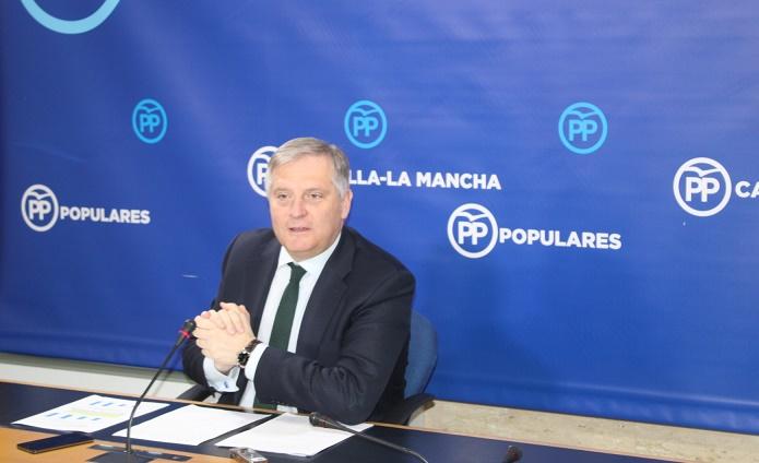 """El PP insiste en señalar que la sanidad en Castilla-La Mancha está en situación """"catastrórfica"""""""