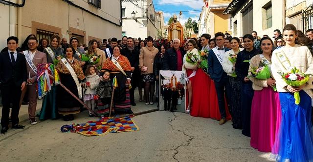 Balazote celebra sus fiestas de invierno en honor de San Blas