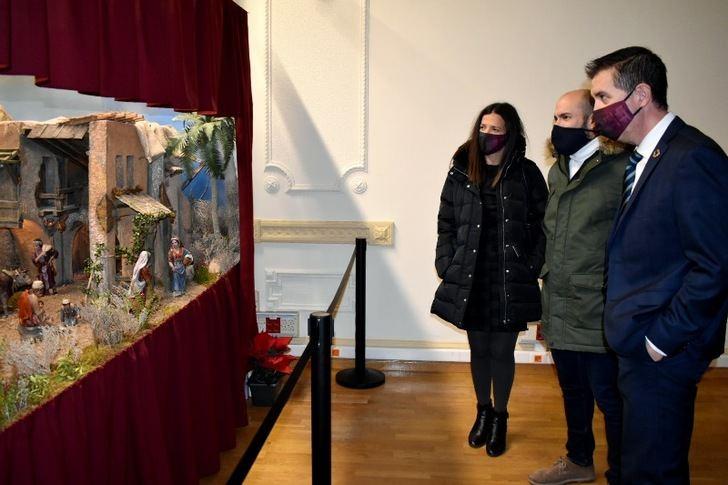 El Belén de la Diputación de Albacete, en el edificio Fontecha, cuenta con 70 piezas de gran realismo