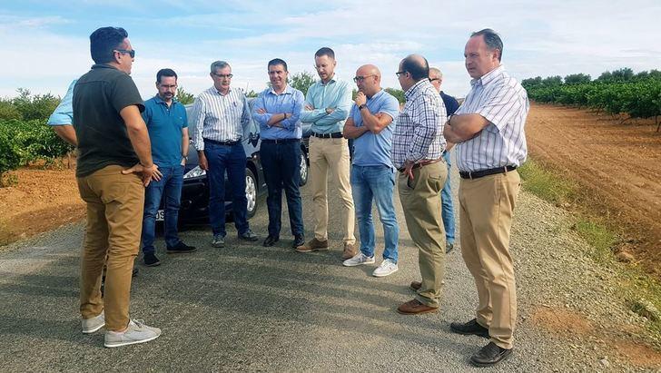 190 kilómetros de caminos rurales arreglados gracias al convenio de la Junta y la Diputación de Albacete