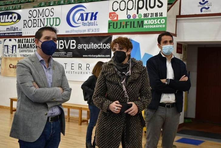 Apoyo de la Diputación de Albacete al CB Almansa en su pelea por lograr el sueño de los play off de ascenso a Liga Endesa