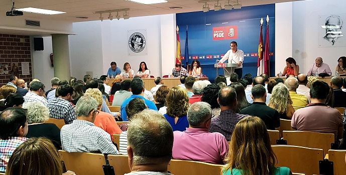 Aprobado por unanimidad el Informe de gestión de la ejecutiva provincial del PSOE de Albacete, que encabeza Cabañero