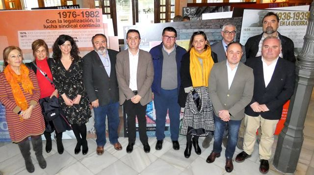 La Diputación de Albacete acoge la exposición '130 años de luchas y conquistas', un recorrido por la historia del sindicato UGT