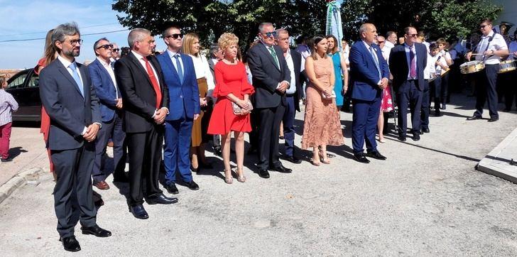 La procesión, uno de los momentos destacados de las fiestas de la localidad albaceteña de Alatoz
