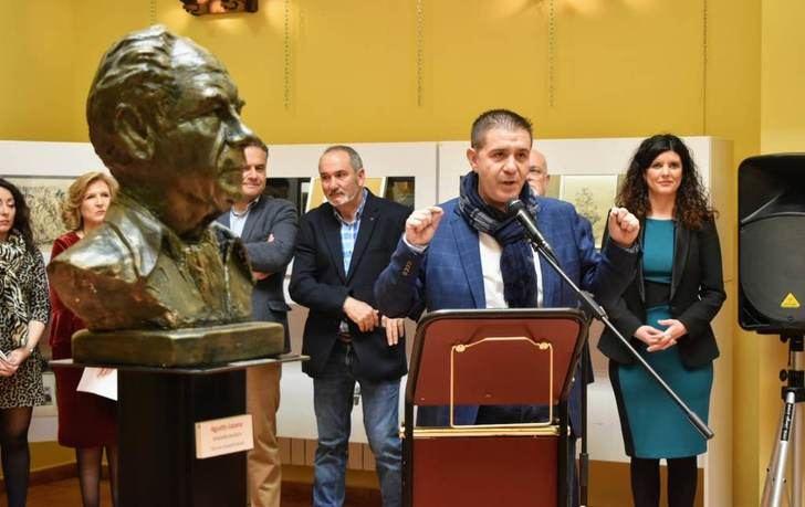 Barrax rinde homenaje a Benjamín Palencia con motivo del 40 aniversario de su muerte
