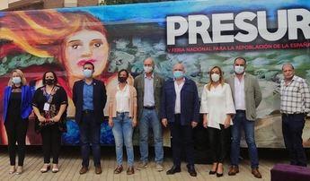 El presidente de la Diputación participa en las I Jornadas 'Repoblando desde la sostenibilidad' que se celebran en Elche de la Sierra