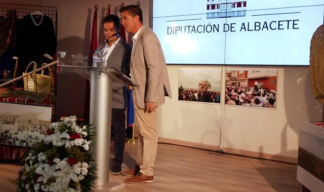 Madrigueras llega al stand de la Diputación de Albacete en la Feria