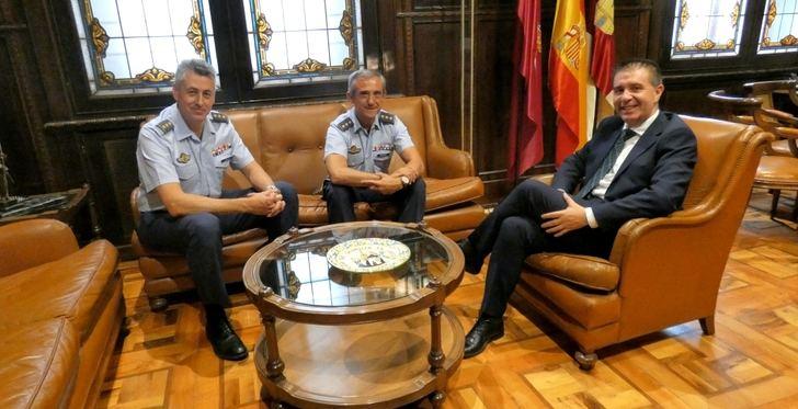La Base Aérea de los Llanos de Albacete prepara el relevo del mando