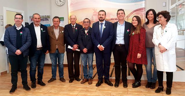 El Día Mundial del Parkinson se celebra en La Roda con la asociación de la localidad y la presencia de la Diputación de Albacete